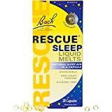 Bach Rescue Sleep Natural Sleep Remedy Liquid Melts 28 Capsules Natural Sleeping Aid