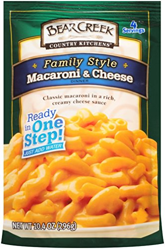 Bear Creek Macaroni & Cheese, Family Style, 10.4 Ounce (Pack of 6) (Homemade Mac And Cheese With Cheddar Cheese Soup)