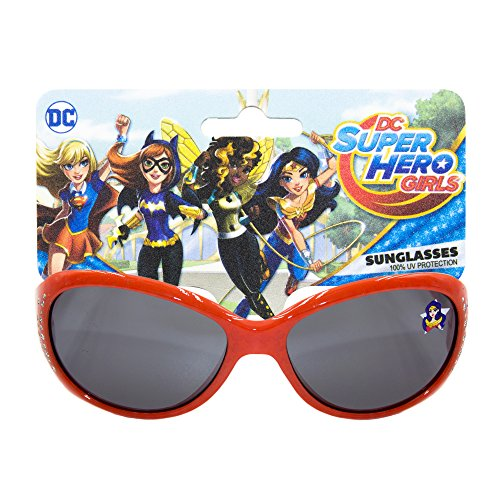 Warner Bros DC Super Hero Girls Non Polarized WayFarer Sunglasses with 100% UV Protection - Protection Uv Sunglasses Know To How