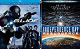 Rise Resurrect Sci-Fi Action Double Feature G.I. Joe Rise of the Cobra + Independence Day Resurrection 2 Pack