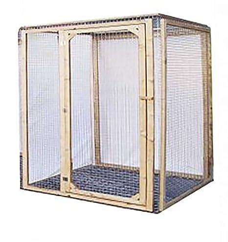 Enclos para gato 120 x 100 x 100 cm: Amazon.es: Productos ...