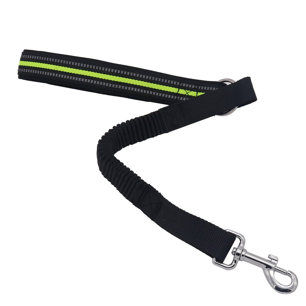Vivifying Dog Short Leash,Comfortable Padded Handle Training Tab for Dogs (Green)