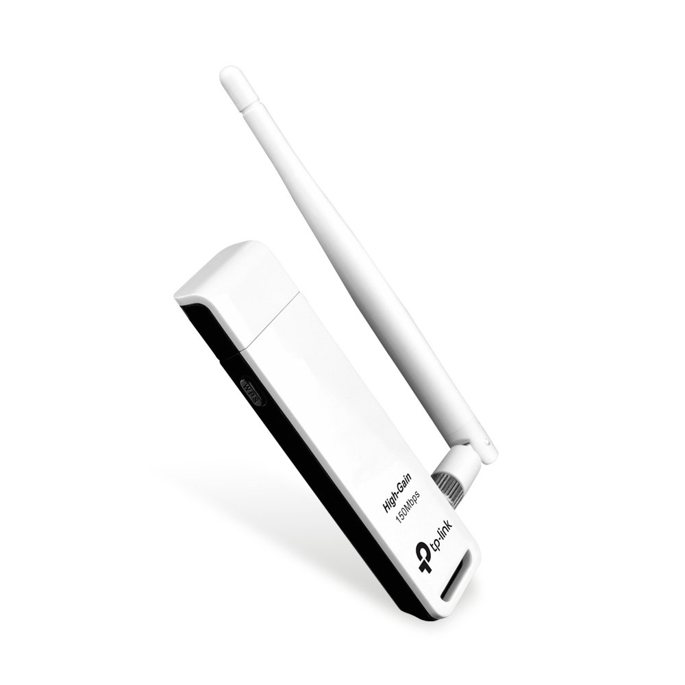 TP-Link TL-WN722N, Wireless USB Adaptor, Blanco, V 3.0