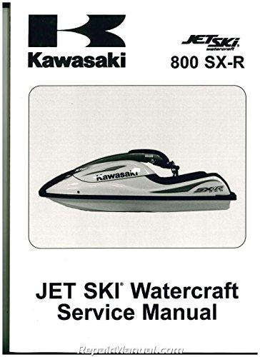 99924-1314-07 2003-2009 Kawasaki JS800A Jet Ski 800 SX-R Service (2008 2009 Skis)