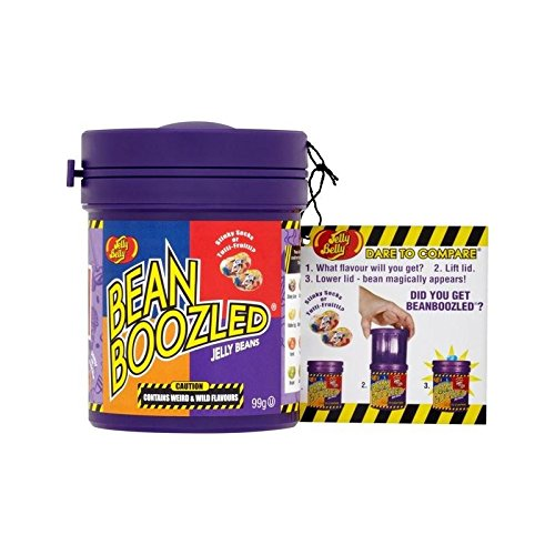 Jelly Belly Beanboozled Mystery Bean Dispenser 99g - Pack of 4 by Jelly Belly
