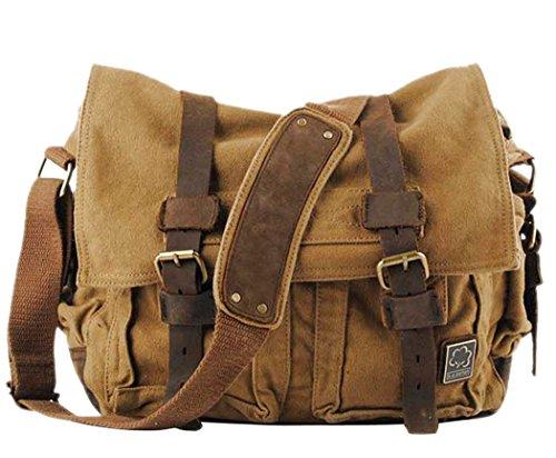 KIPTOP-2016-OtooInvierno-Moda-Nuevo-bolsos-bandolera-estilo-de-la-vendimia-de-la-lona-unisex-del-mensajero-del-bolso-de-hombro-de-cuero-del-hombro-del-bolso-del-mensajero