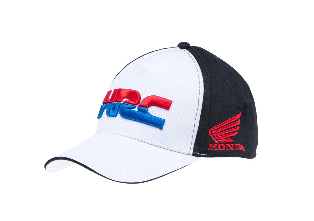 Honda Team HRC 2018 Black /& White Baseball Cap Teamwear MotoGP MXGP Bike Racing