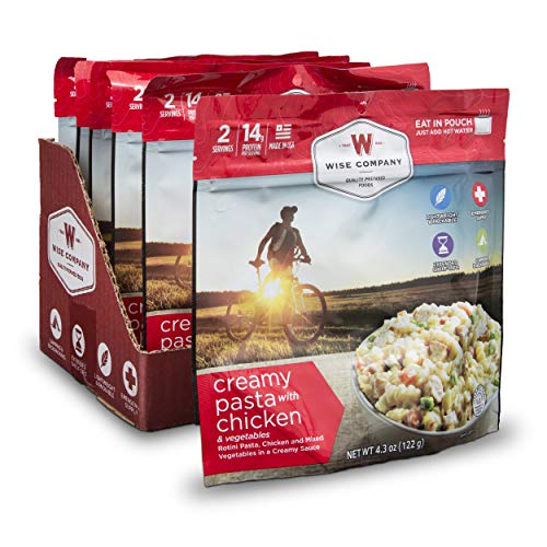 Wise Company Creamy Pasta with Chicken Camping Food (Case of 6)