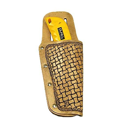 Utility Knife Holster Kit - Vegtan Tooling Leather DIY - Cutter Leather For Holster Box