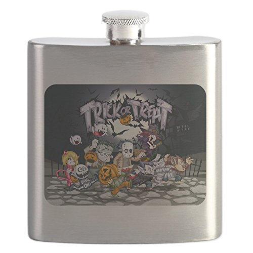 Hip Flask Halloween Trick or Treat Costumes -