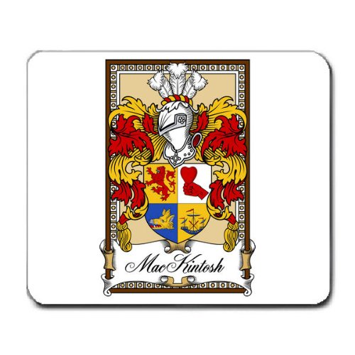 MacKintosh Family Crest Coat of Arms Mouse Pad