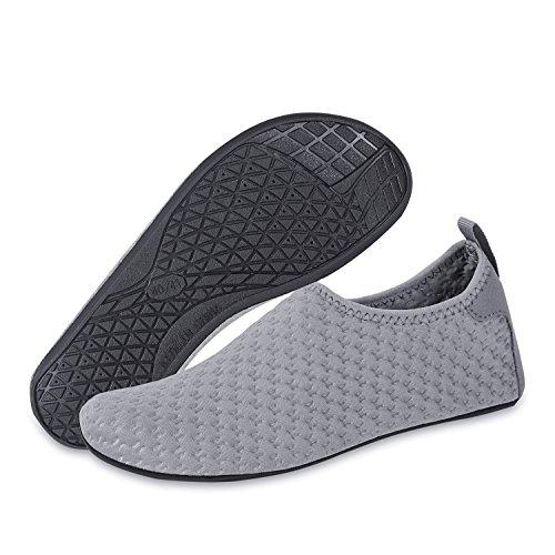 Barefoot for Men Aqua MENG Socks Dry Water Swim NING Shoes Quick grey Beach Shoes Women Yh Surf Socks Yoga 6qYw4
