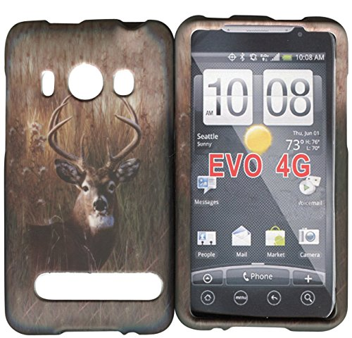 htc-evo-4g-sprint-buck-deer-case-cover-hard-phone-case-snap-on-cover-rubberized-touch-faceplates
