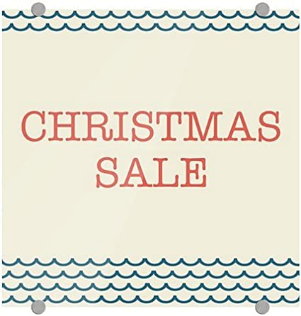 cgsignlab christmas sale nautical wave premium brushed aluminum sign 5 - Amazon Christmas Sale