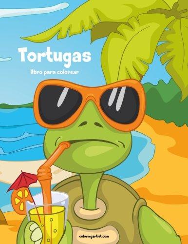Tortugas libro para colorear 1: Volume 1: Amazon.es: Nick ...