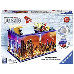 Aufbewahrungsbox Union Jack 3d Sonderformen 216 Teile Erlebe Puzzeln In Der 3 Dimension