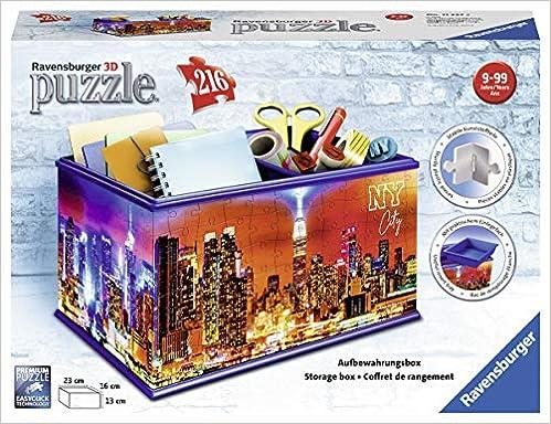 Dimension Aufbewahrungsbox 216 Teile: Erlebe Puzzeln in der 3 Union Jack 3D Sonderformen
