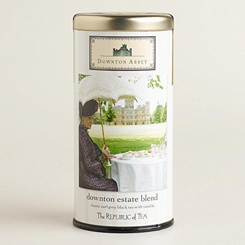 The Republic of Tea Downton Abbey Estate Blend Tea Tin (2.03 oz) -