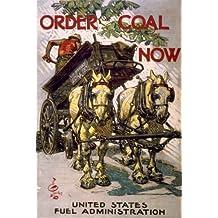 1918 poster Order coal now / J.C. Leyendecker.