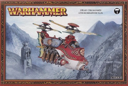 Dwarf Gyrobomber Gyrocopter Games Workshop by Games Workshop