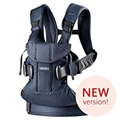 Baby Carrier One Air in airy 3D mesh is designed to make babywearing much more comfortable. The cool mesh fabric has many popular qualities. It's soft and breathable, but it's also durable and dries quickly after washing. In all other respect...