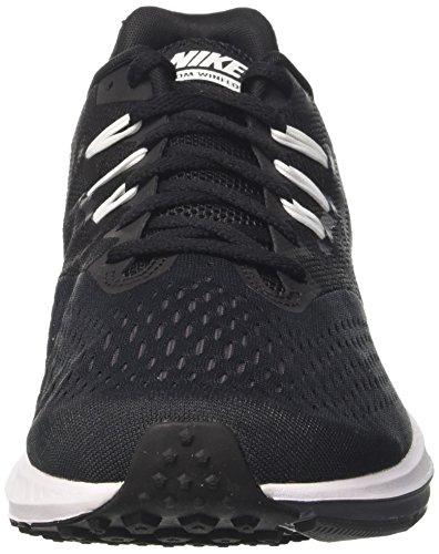 Nike Zoom Winflo 4 Svart / Vit / Mörkgrå Mens Löparskor