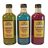 Village Naturals Therapy Aches + Pains Foaming Bath Oil & Body Wash Variety Set