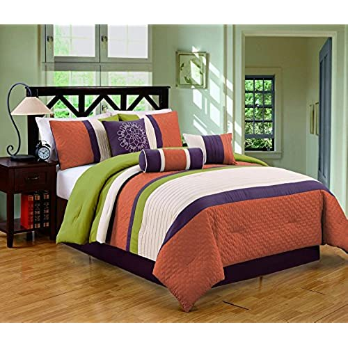 com apremierrealestate queen bedding luxury piece set kerrington by pin comforter hiend sets