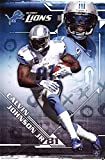 Calvin Johnson Jr. Detroit Lions NFL Sports Poster 22 x 34in