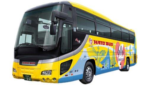 フジミ模型 1/32 BUSSP-4 観光バスシリーズ はとバス60thガーラSHD+バスむすめの商品画像