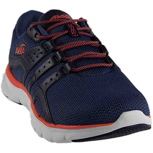 Avia Women's Avi-Mania Track Shoe, Grotto Navy/Lapis Blue/Intense Coral, 11 M US by Avia