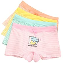 Cute Boyshort Little Girls Underwear Briefs Panties 5-pack