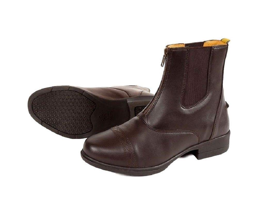 Shires Moretta Clio Adult's Paddock Boot Brown 8 by Shires