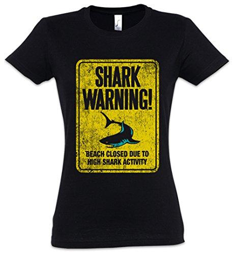 Maui De Señal Australia Tiburón Warning Surfer Mujer 2xl Shark Ii Surfing shirt Diver Advertencia Jaws Killer Aviso Women Sign T Tiger Tamaños Xs Girlie Logo – White Hawaii 7Pq7U