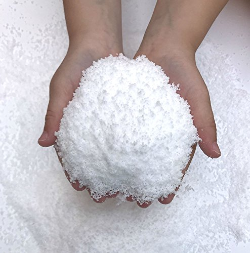Zinnor Instant Snow Powder, Fake Artificial Snow - Magic Instant Fake Fluffy Snow Super Absorbant for Slime - Best Gifts for Science Activities, Play Dates, Parties, Games, Decoration,Holiday (2 PACK) by Zinnor (Image #2)