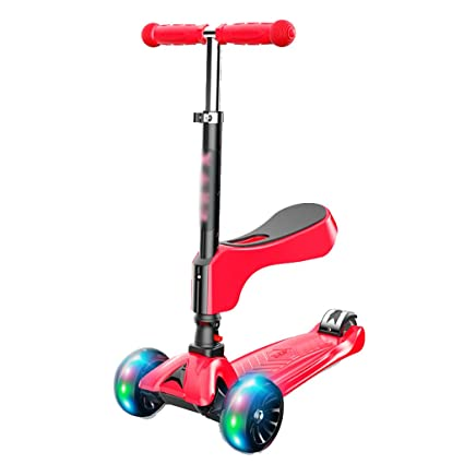 Patinetes Red Kick Scooter 2 En 1 con Asiento Extraíble ...