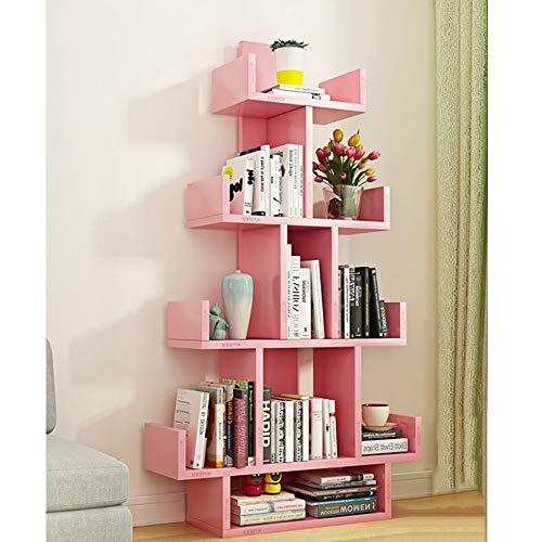 cool pink bookcases