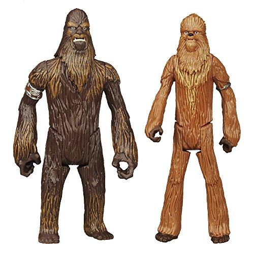 Star Wars Mission Series Figure Set (Wullffwarro and Wookiee Warrior)
