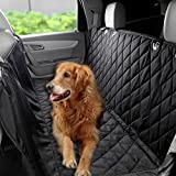 Cheap Homdox Waterproof Hammock Pet Seat Cover Non Slip Pet Dog and Cat Car Rear Back Seat Cover Protector Black 57.72 x 53.04 inch