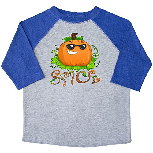 inktastic Pumpkin Spice With Sunglasses Toddler T-Shirt 2T Heather and - 4034 Sunglasses