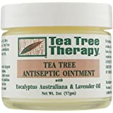 Tea Tree Therapy Antiseptic Ointment Oil, Eucalyptus Australian and Lavender, 2 Ounce