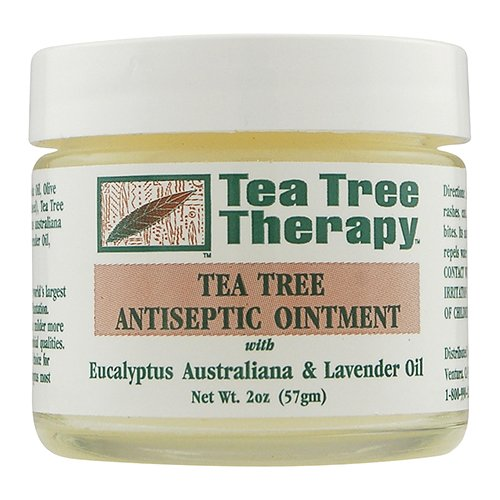 - Tea Tree Therapy Antiseptic Ointment Oil, Eucalyptus Australian and Lavender, 2 Ounce
