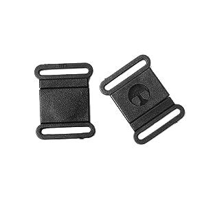 "50pcs Pack 5/8"" Webbing Black Plastic Safty Breakaway Bra Buckle Cat Dog Collar Harness Strap Parts Accessories #FLC068-B"