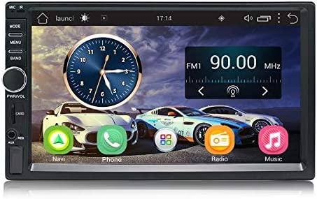 Panlelo S1 Android 2 DIN Universal 7 Pulgadas Car Stereo Touchscreen Navegación GPS Am/FM Radio 1024×600 Quad Core + 16G Car Audio Player WiFi ...