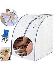 CTEGOOD Sauna de Vapor Personal Sauna Caja Interior Plegable con Silla Plegable, Placa calefactora para Pacientes con insomnio severo, Mujeres posparto