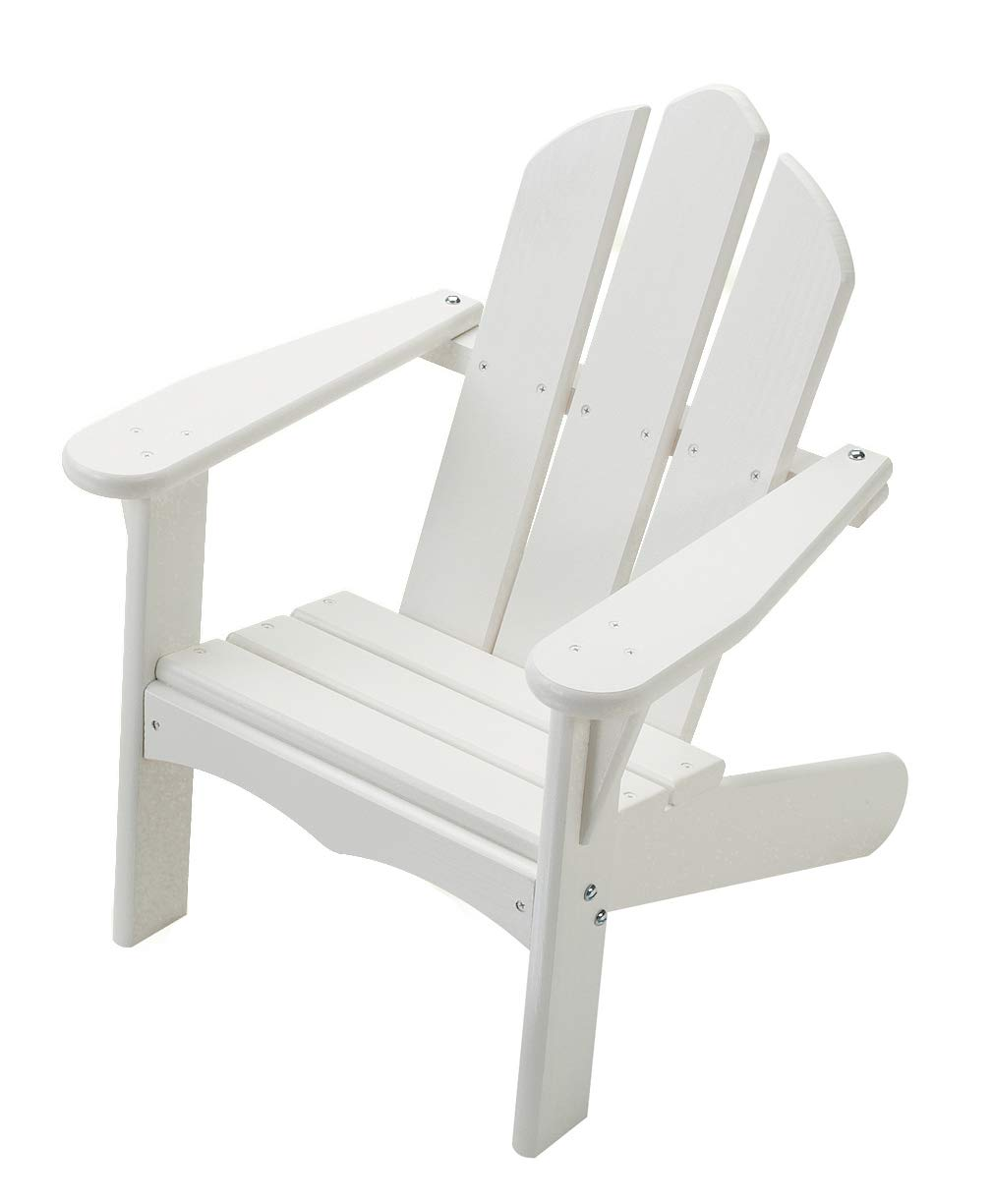 Little Colorado 140SW Kid's Adirondack Chair-White by Little Colorado