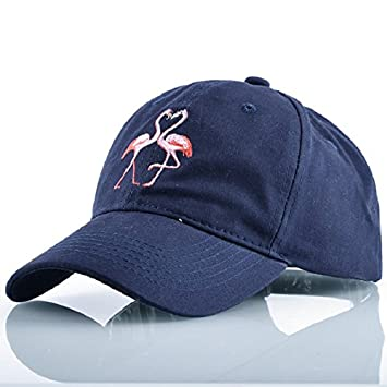 QETUOAD Gorra de béisbol de Verano Flamingo Dad Sombreros para Hombres Mujeres Gorras de Camionero Bordado