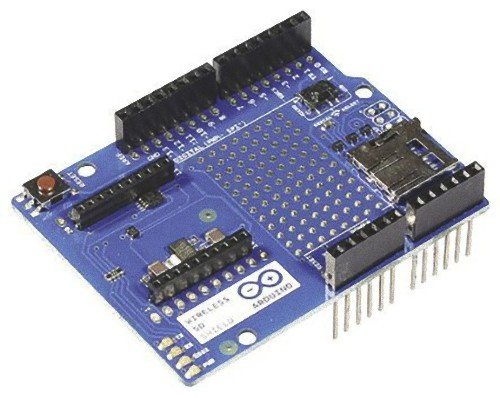 Arduino Wireless SD Shield, scheda per interfaccia di rete