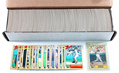 (1987 Topps Baseball Complete Set (792) Barry Bonds Will Clark Rookies)