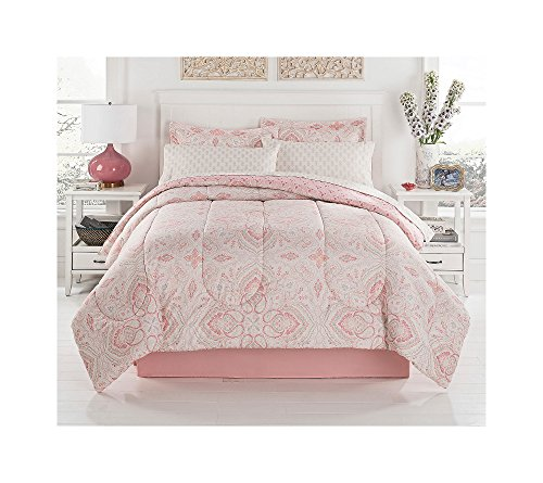Living Quarters 8-pc Zoey Comforter Set Full Comforter Set (Zoey Quilt Set)